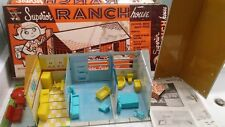 Superior Ranch House, by T Cohn, Inc. 1950's or 1960's, with box & instructions