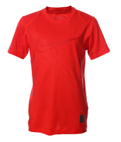 Brand NEW - Nike Boy's Pro Cool FItted Athletic Red T-Shirt - Choose Size