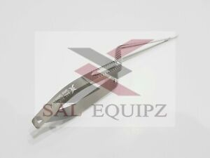 "Micro Neuro Surgery Scissors 8"" Yasargil Bayonet Shape Vannas Pointed CVD"