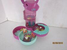 Littlest Pet Shop Teeniest Tiniest Hamster Hideaway Playset With 3 Pets LPS  x