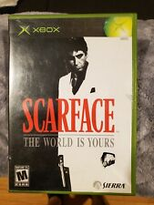 Scarface: The World is Yours (Microsoft Xbox, 2006) 100% Complete & Tested