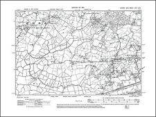Bexhill W, Little Common, Hooe, old map Sussex 1910: 70NW repro