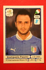 Panini EURO 2012 N. 334 ITALIA PAZZINI  NEW With BLACK BACK TOPMINT!!