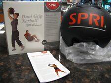 SPRI Dual Grip Xerball Medicine Ball, 16-Pound
