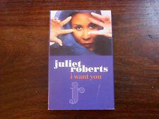 Juliet Roberts: I Want You   Cassingle   NEW EX SHOP STOCK