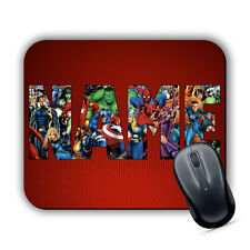 MARVEL PERSONALISED LOGO Mouse Mat Pad PC Mac Superheroes Hulk Avengers Any Name