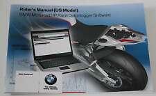 BMW S 1000 RR riders manual datalogger english (US Model)