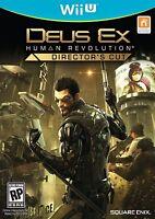Deus Ex: Human Revolution, Director's Cut (Nintendo Wii U, 2013)