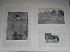 1896 Horse Racing Wroughton Hall Bishopstone Stud Lord Dangan Greenwood Dore