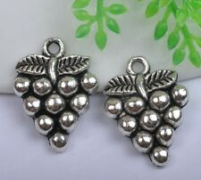 20pcs tibet silver grape charms 20x14mm SH847