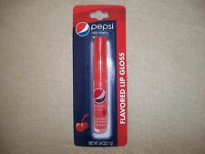 .04 Oz. Pepsi Wild Cherry Flavored Lip Gloss By Lotta Luv, NEW IN PACKAGE!