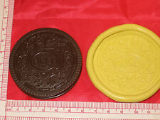 Chocolate Sandwich Cookie Silicone Push Mold Polymer Clay Resin Food 153 Cake