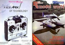 RADIO CONTROL MODEL WORLD MAGAZINE 1984 JAN HELICOPTERS, THE TAKUMI PROJECT