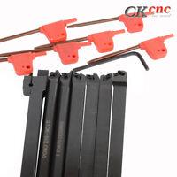 7PCS Set Of 10mm Lathe Turning Tool Holder Boring Bar CNC tools lathe cutting