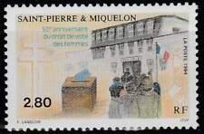 Saint Pierre et Miquelon postfris 1994 MNH 675 - Vrouwen Kiesrecht