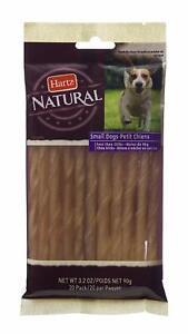 Hartz Natural Beefhide Twist Mini Dog Chews - Small, 20 count