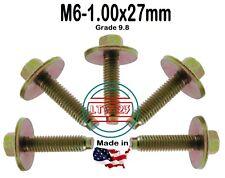 M6-1.00 x 27mm Metric Hex  Screw W/ Spin Washer LT-M0627 ( Qty 15)