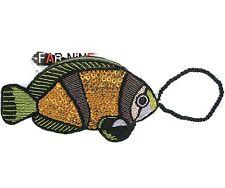 NEW MULTI COLOR BEAD SEQUIN FISH WRISTLET+WALLET+CASE+POUCH+BAG+CLUTCH