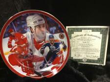"""Bradford Exchange Collector Plate Paul Coffey """"Swift 77"""" Heroes on Ice #1066 Le"""