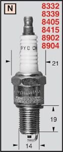 Candle Champion Maico Sidecar 610 1991 N3G