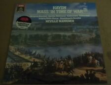 Marriner/Dresden HAYDN Mass in Time of War - Angel DS-37988 SEALED