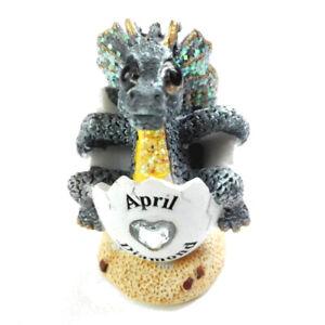 April Birthstone Dragon - Faux Diamond