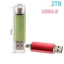 USB Flash Drive Memory  U Disk  Drive 2TB Pen drive smart phone (Size: 2tb)