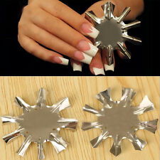 1 Pc Nail Art Easy French Line Edge Trimmer Manicure Stencil Template Tools