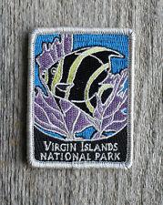 Virgin Islands National Park Souvenir Patch Traveler Series Iron-on