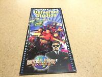 Vintage Universal Studios Florida Informational Park Brochure 2002