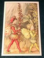 CICELY MARY BARKER FLOWER FAIRIES POSTCARD, THE AGRIMONY FAIRIES, OF THE WAYSIDE