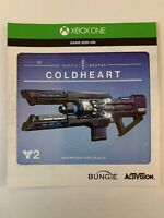 Destiny 2 Coldheart Cold Heart Exotic Weapon DLC for XBOX ONE XB1