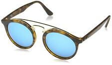 731fd107bc7 Ray-Ban Rb4256 609255 Gatsby I Tortoise Frame Blue Mirror 49mm Lens  Sunglasses