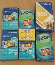 Job lot of expired Polaroid izone and 500 film (i-zone joycam)