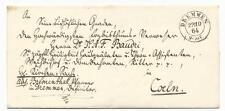 Altdeutschland/Preußen: Kirchenbrief 1864 von DREMMEN (Reg.-Bez. Aachen)!