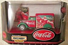 Matchbox Collectibles Coca Cola 1937 Dodge Airflow Christmas Truck Die-cast NIB
