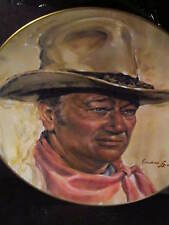 Vintage John Wayne The Man Of The Golden West Ltd Ed Plate 10 1/4""
