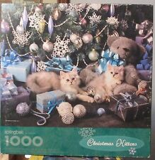 CHRISTMAS KITTENS - Complete - SPRINGBOK PUZZLE