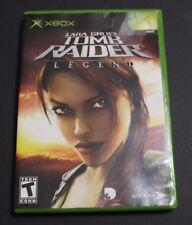 Lara Croft: Tomb Raider -- Legend (Microsoft Xbox, 2006) - No Booklet