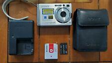 Sony Cyber-shot DSC-W80 7.2MP Digital Camera - Silver *fine/tested*