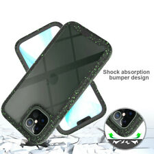 For iPhone 11 Pro XS Max XR 8 7 Plus Protective Clear Hybrid Bumper Case Cover