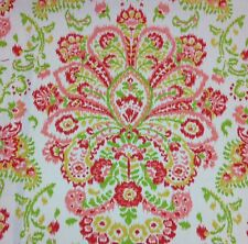 "MAGNOLIA HOME PROVENCE POPPY RED FLORAL MULTI USE COTTON FABRIC BY THE YARD 54""W"