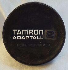 Tamron Adaptall 2 Rear Lens Cap for Pentax K PK KR - Japan Genuine  2115048