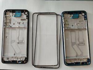 For Motorola Moto G8 Power  XT2041  middle housing with LCD bezel Frame Blue
