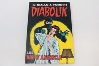 DIABOLIK ORIGINALE SECONDA SERIE ASTORINA N° 6   [AD-006]