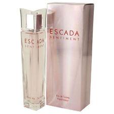 Escada Sentiment Perfume ESCADA 2.5 oz 75 ml EDT Eau De Toilette Spray for Women