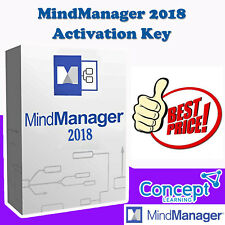 MindManager 2018 for Windows | Activation Key | 3 PC's | ***Quick delivery***