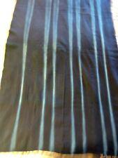 """Fantastic 'Indigo Mud-Cloth From Africa' 36"""" X 64"""" - Vintage - Heavy"""