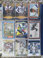 LOS ANGELES RAMS MASSIVE LOT OF OVER 150+ RARE CARDS AND PREMIUM INSERTS