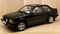 Sun Star 1:18 Scale - Ford Escort XR3i - Black - Diecast Model Car
